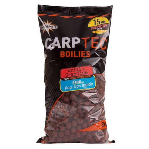 Carptec Krill and Crayfish (15mm/20mm) 2kg