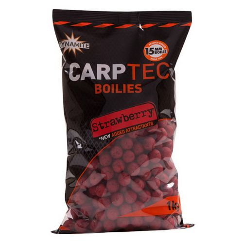 Carptec Strawberry (15mm/20mm) 1kg