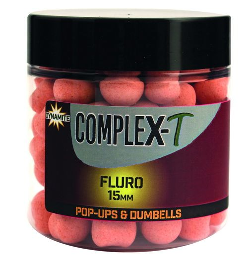 CompleX-T Fluro 15mm Pop Ups + Dumbells