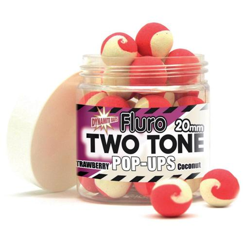 Strawberry & Coconut Creme 2 Tone 20mm Pop Up