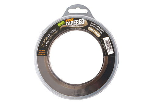 Edges Soft Tapered Leader 12-30lb 0.33 - 0.50mm