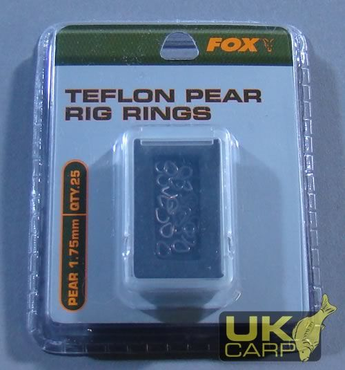 Teflon Pear Rig Rings 1.75mm