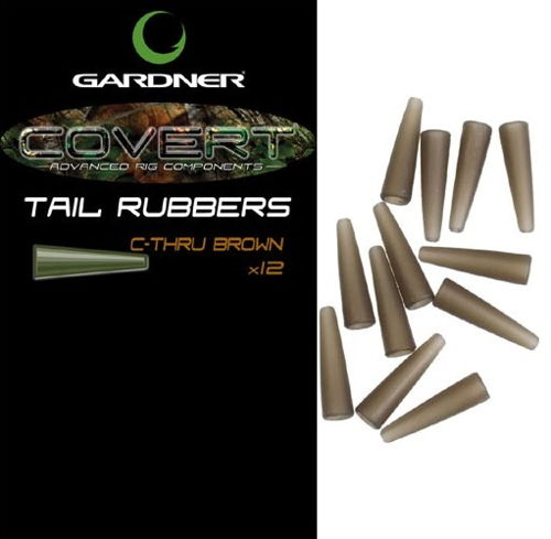 Covert Tail Rubbers C-Thru Brown