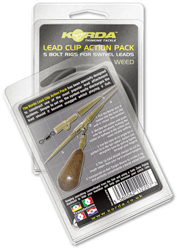 Lead Clip Action Pack Weedy Green