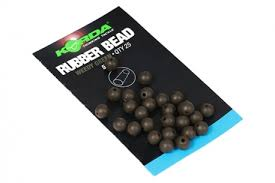 Safe Zone 4mm Rubber Beads Muddy Brown