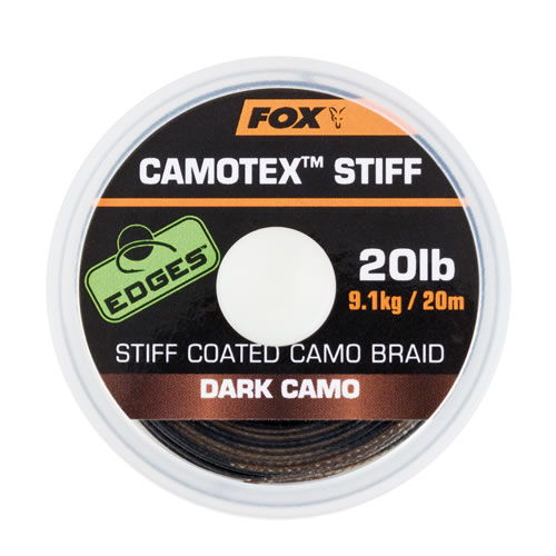 Edges Camotex Soft Dark Camo 11.3kg/ 25lb 20m