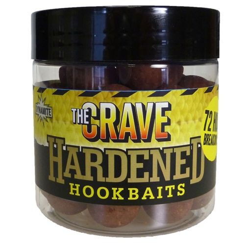 Crave 14+20mm Boilies + 15mm Barrel Hardened Baits