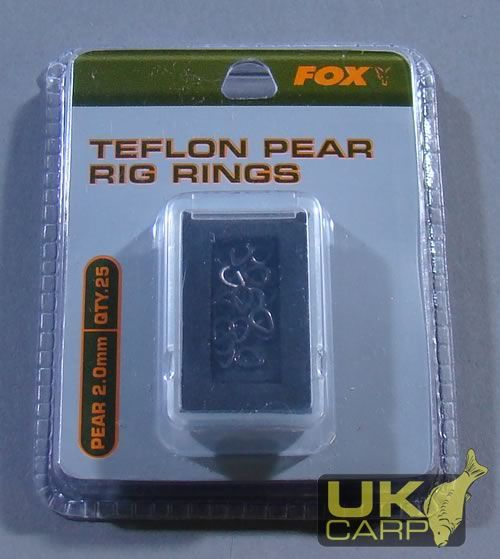 Telfon Pear Rig Rings 2mm