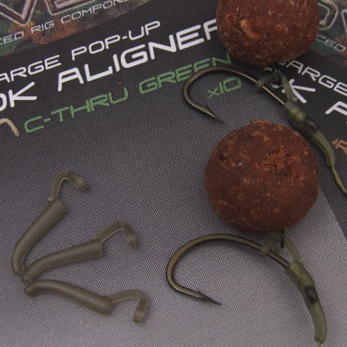 Covert Pop Up Hook Aligner Large C-Thru Green