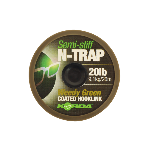 N-Trap Semi Stiff Green 20lb