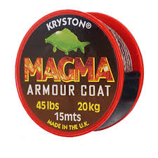Magma 20.3kg/ 45lb Gravel Brown 15m